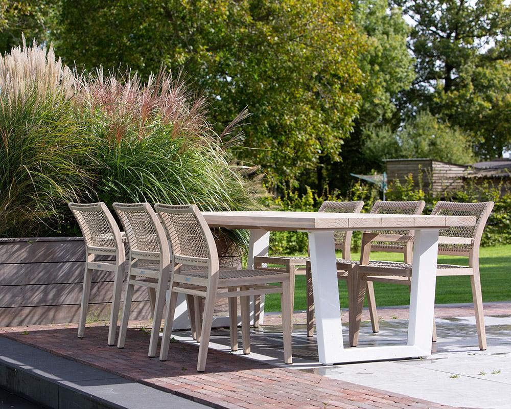 Gartenmöbel Set 6 Stühle